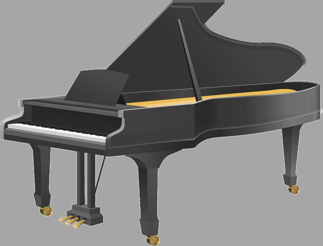 ציור של פסנתר