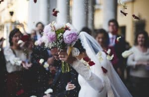 כלה ביום חתונתה