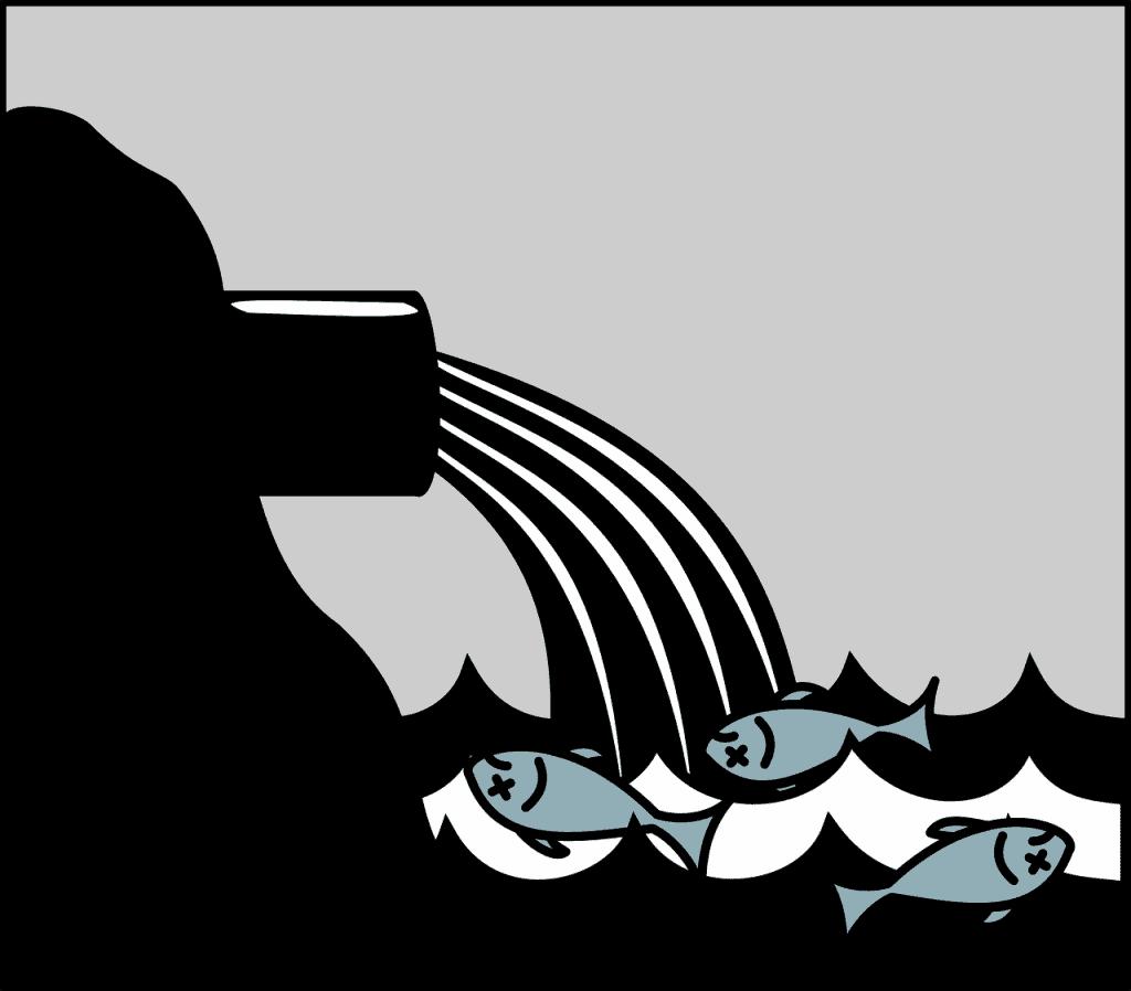 מים זורמים לים